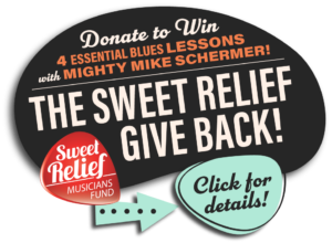 The Sweet Relief Give Back! Donate to Win!